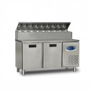 22TBF2S-PA70 2 DOOR LOW MOUNTED PIZZA PREPARATION CABINET
