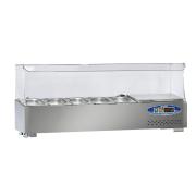 22SBS05-12 COOLED COUNTER TOP SALAD BAR 5 BATHTUBS